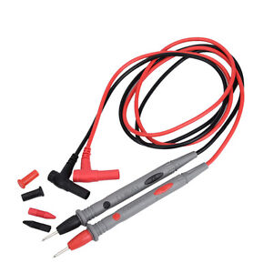 Multimeter Test Leads Probes with Alligator Clips