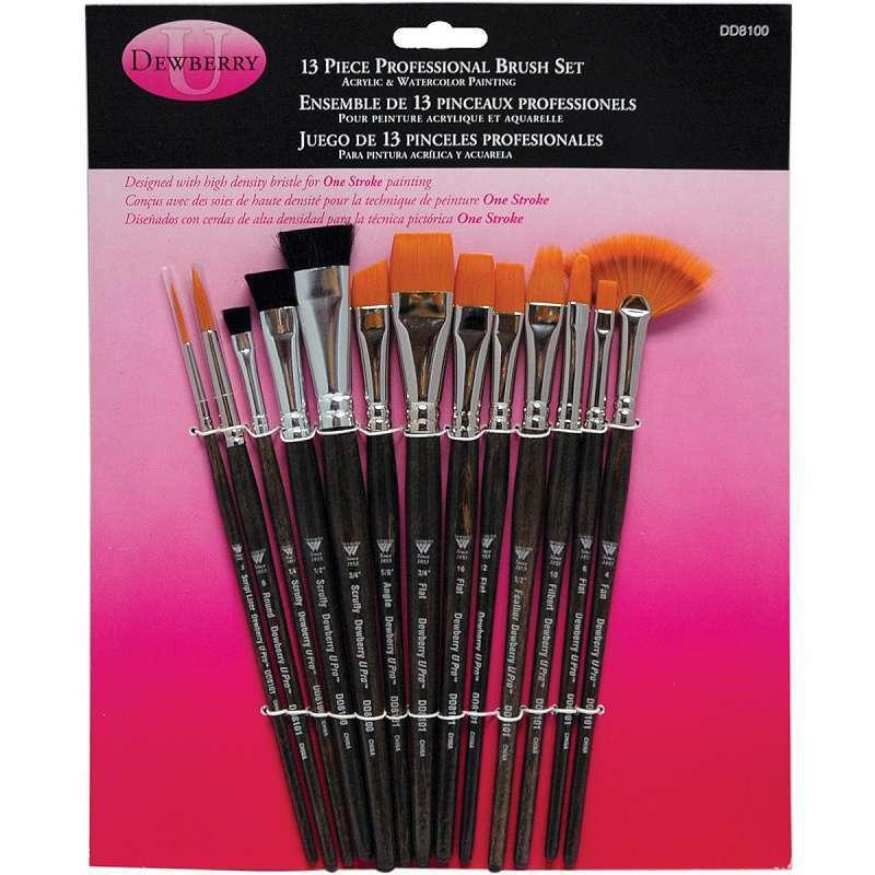 Donna Dewberry Professional Brush Set 13/Pkg 018918810000