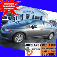 2012 Honda Civic VERY Clean Car Only $7995 Amazing Buy Here! Bedford Halifax Preview