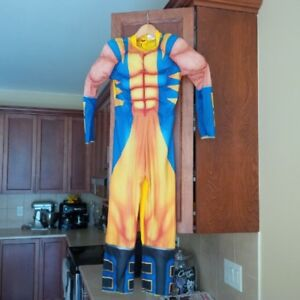 Child Wolverine costume (body suit only), size 8-10
