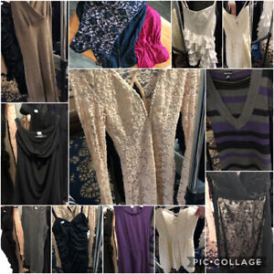 All types of dresses