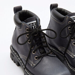 Roots Tuff Boots - Black Tribe Leather - Women's 8.5
