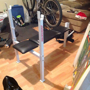 Selling Bench press with bar