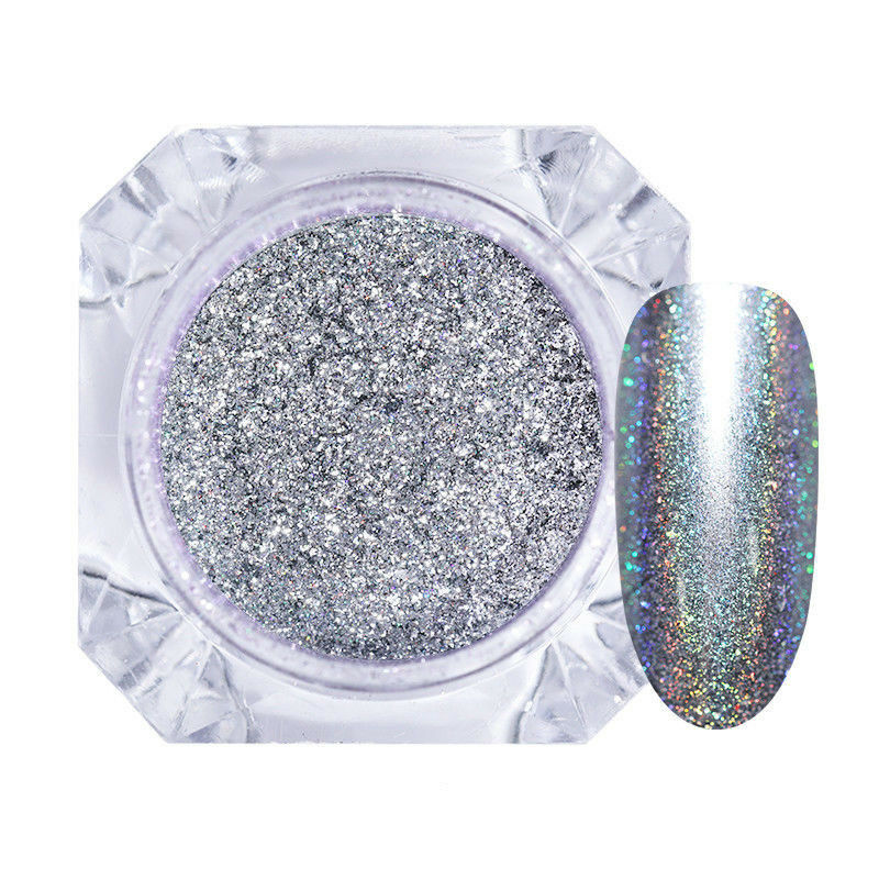 Nail Glitter Mirror Powder Dust Pearl Nail Art Chrome Pigment Decoration DIY