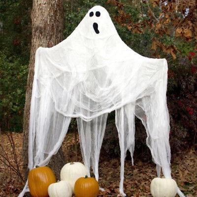 Horror Gespenst Party Karneval Scary Geist Club Deko Neu (Scary Halloween Gespenst)