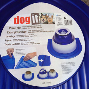 New Dog it Feeding or Water Mats