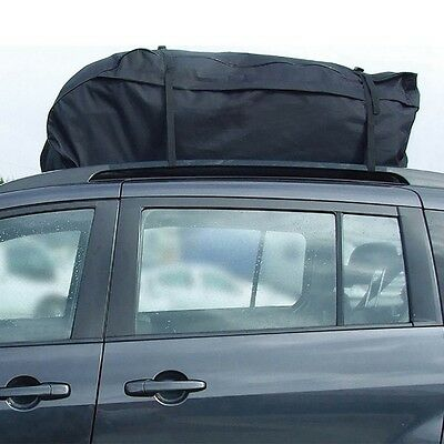 NEW Car Roof Top Box Luggage Bag 458 Litre Folding