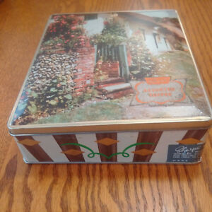 Tin Toffee Box