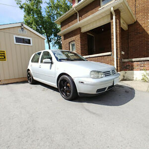 2000 VW GOLF AUTO BEST $ OFFER AS IS THIS IS A NICE CAR