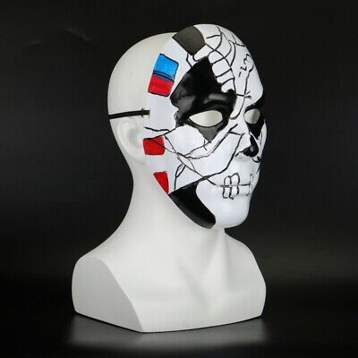 Scary Jigsaw Mask Punisher Billy Russo Mask Cosplay Halloween PVC Mask Props ](Jigsaw Masks Halloween)