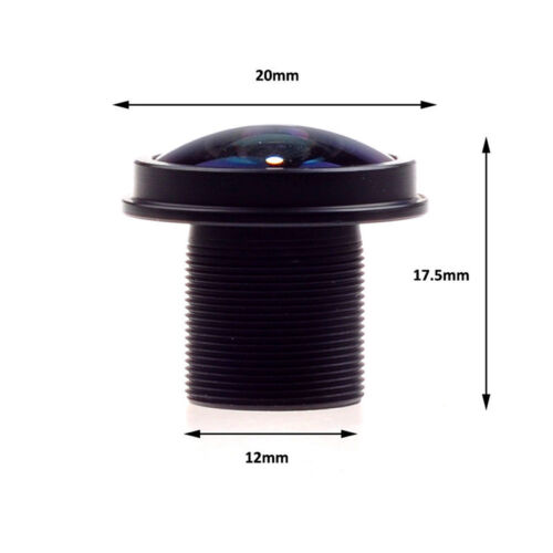 CCTV lens M12 1.8mm Lens Fisheye 180°wide angle for CCTV Security MINI camera