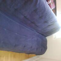 faites vite futon bleu encore propre double gratuit