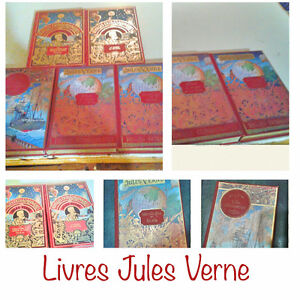 Adventure novels Jules Vern