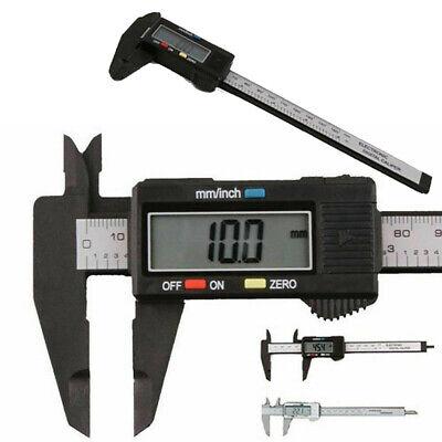 1x Electronic Vernier Calipers Digital Gauge 150mm Dial Tools Ruler Indicators