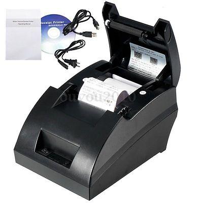 Pro Hot Mini 58mm Posesc Thermal Dot Receipt Printer Set 384 Lineusb Cable