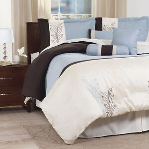 Portsmouth Home Samantha 7-Pc. Comforter Set - Queen, New