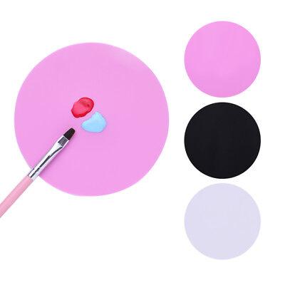 Waschbar Farbe (Silikon Mischen Farbe Palette Matte Faltbar Waschbar Stamping Pad Nail Art Tool)