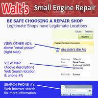 Walts Snowblower Repair Markham -Scarborough-Vaughan- TO