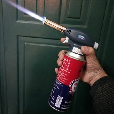 Butane Torch Portable Welding Heat Solder Gun Igniter Cooking Survival Outdoors