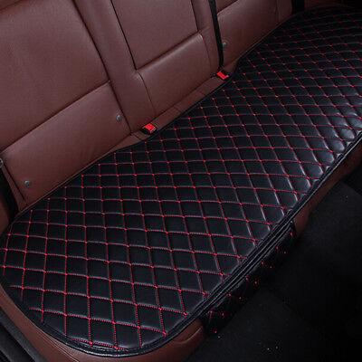 Waterproof Universal PU Leather SUV Car Seat Cover Cushion Pad Rear Seats Mat