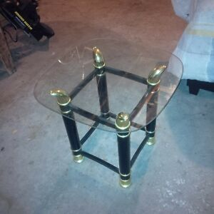 glass end table for sale
