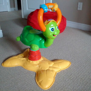 VTech Bounce & Learn Turtle (like new!) Kitchener / Waterloo Kitchener Area image 1