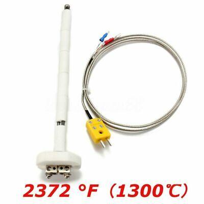 High Temperature Type K Thermocouple Core Ceramic Kiln Probe W Wire Extension