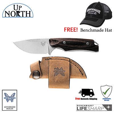Benchmade Hunt 15016-2 Hidden Canyon Hunter Small Skinner Knife FREE HAT - Hidden Knives