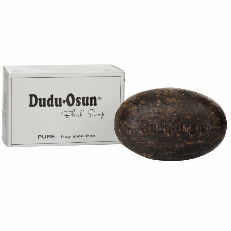 Schwarze SeifeDudu Osun Fragrance Free 25g (parfümfrei)