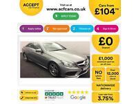 Mercedes-Benz E250 AMG Sport FROM £104 PER WEEK!