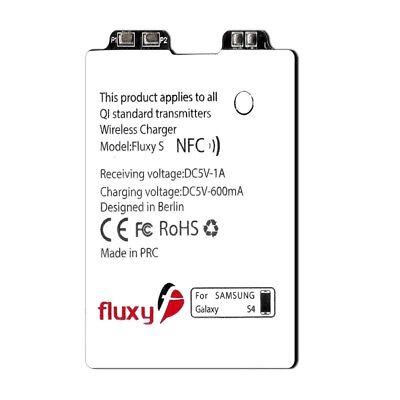 Samsung Wireless Receiver (FluxPort Qi Wireless-Charging Receiver Ladeped für Samsung Galaxy S4)