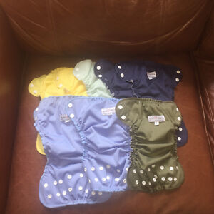 Applecheeks cloth diaper lot