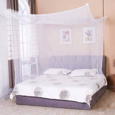 4 corner princess bed canopy bedcover mosquito