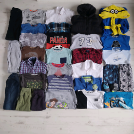 Boys 7-8 years clothes bundle 33 items