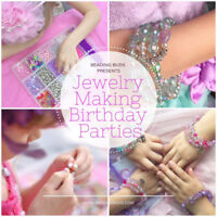 Beading Buds Cambridge Birthday Parties for Girls 5, 6, 7, 8