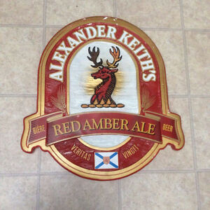 Alexander Keith Red Ale sign