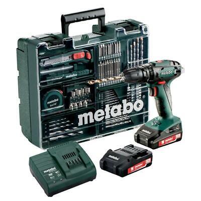Metabo Akku-Schlagbohrschrauber SB 18 Set 18V+ 2x2.0 Ah Akkus+Ladegerät+Koffer
