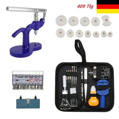 409Tlg Uhrmacherwerkzeug Uhrenwerkzeug Set Reparaturset Uhrenreparaturen