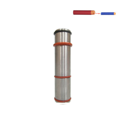 1PCS Turning Barrel Elite Darts Fixture Tube Metal for Nerf