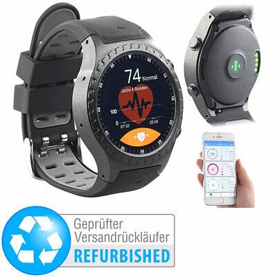 Fahrrad-Uhren: GPS-Handy-Uhr & Smartwatch für iOS & Android, Versandrückläufer