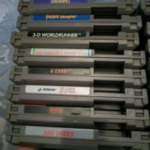 8 Original Nintendo NES games