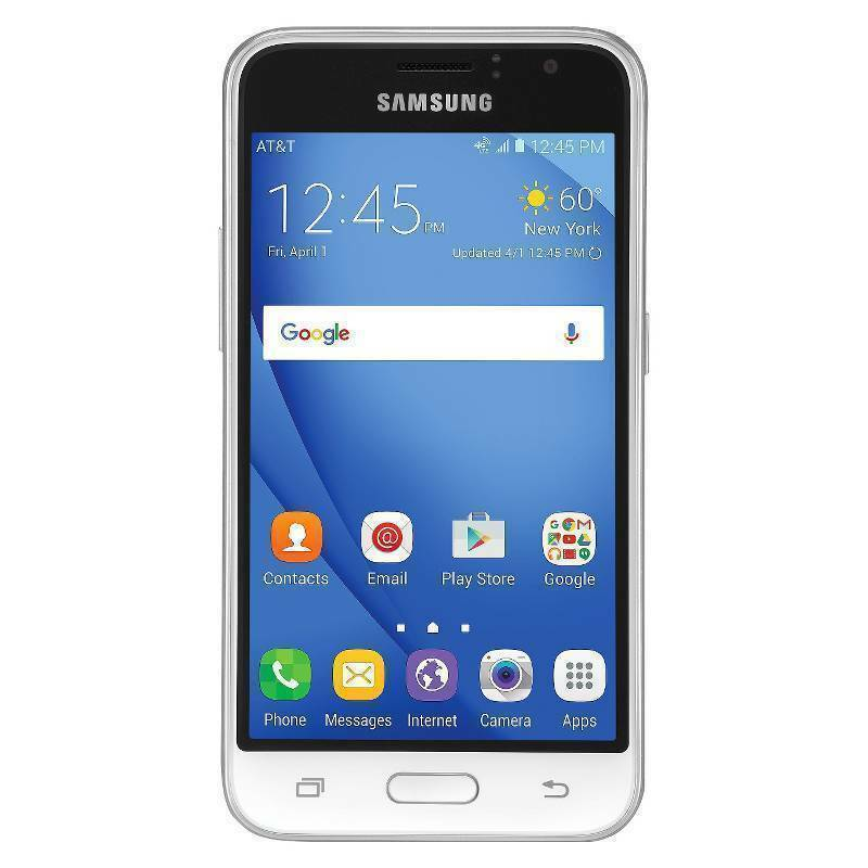 Samsung Express 3 SM-J120A - 8 GB - White (AT&T) Smartphone