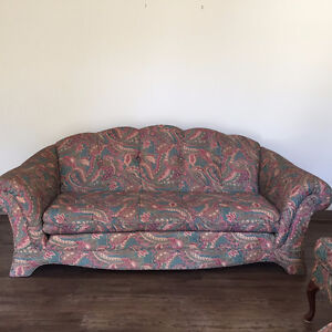 Like New Couch, Chair and Ottoman Combination
