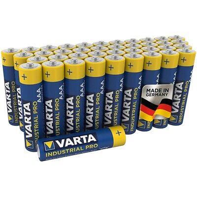 40x Batterien Micro AAA LR3 LR03 MN2400 VARTA 4003 Industrial Pro online kaufen