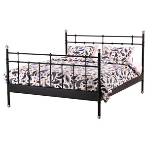 IKEA DOUBLE BED FRAME ONLY
