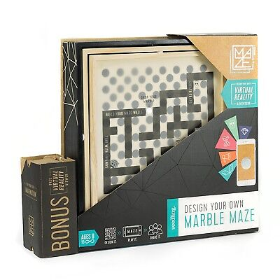 - NEW - Seedling Design Your Own Marble Maze - A DIY Virtual Reality Adventure - (Marble Maze)