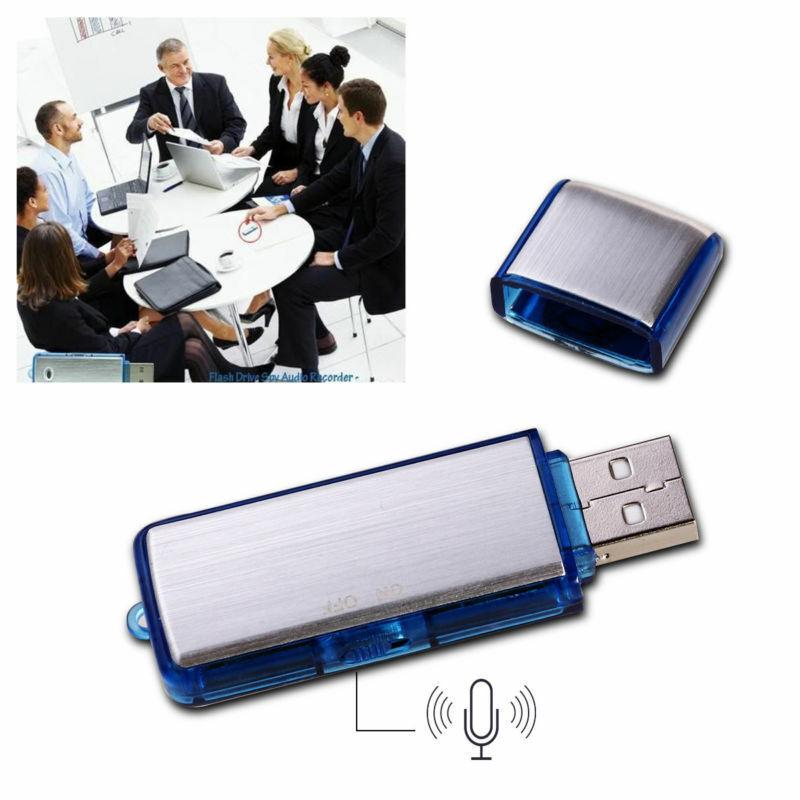 8GB Digital Diktiergerät Aufnahmegerät Audio Voice Recorder Mini USB Stick