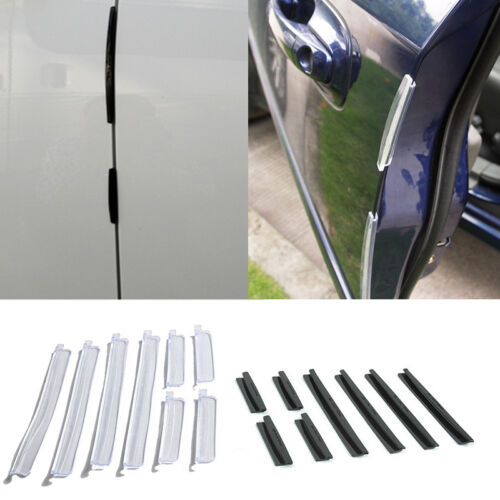 Car Parts - 8X Car Door Edge Guards Trim Molding Protection Strip Scratch Protector Ant Z2A7