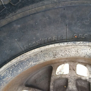 Good Summer Tires on Alloy Rims for Sale Peterborough Peterborough Area image 2