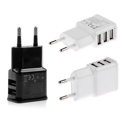 European Dual 2 Pins USB AC Power Adapter US/EU Plug Wall Charger Mobile phone Plug Power Adapter